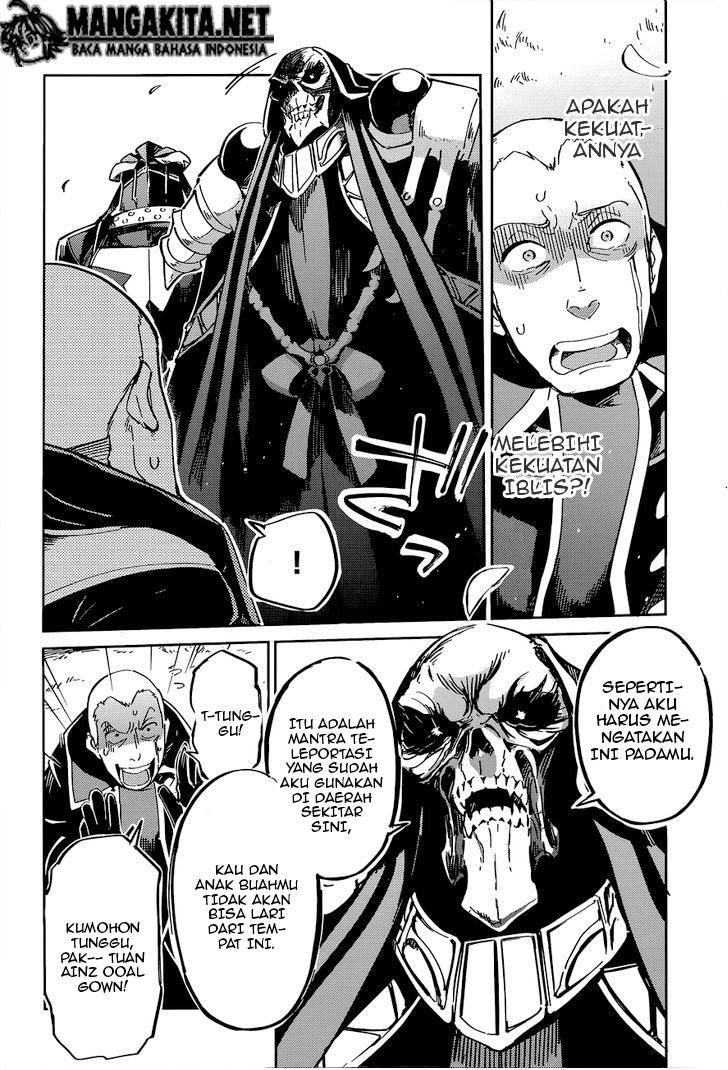 Manga Overlord Chapter 4 Bahasa Indonesia