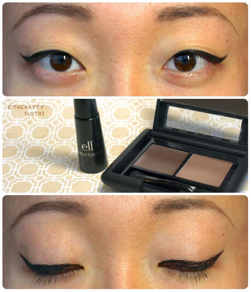 e.l.f. Cosmetics Studio Eyebrow Kit & Essential Liquid ...
