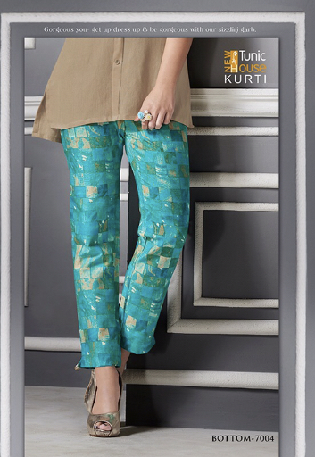 Tunic House Nancy printed Pant Khadi Collection
