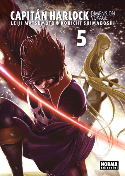 """Reseña de """"Capitán Harlock: Dimension Voyage"""" vol.5 de Leiji Matsumoto y Kouichi Shimaboshi - Norma Editorial"""