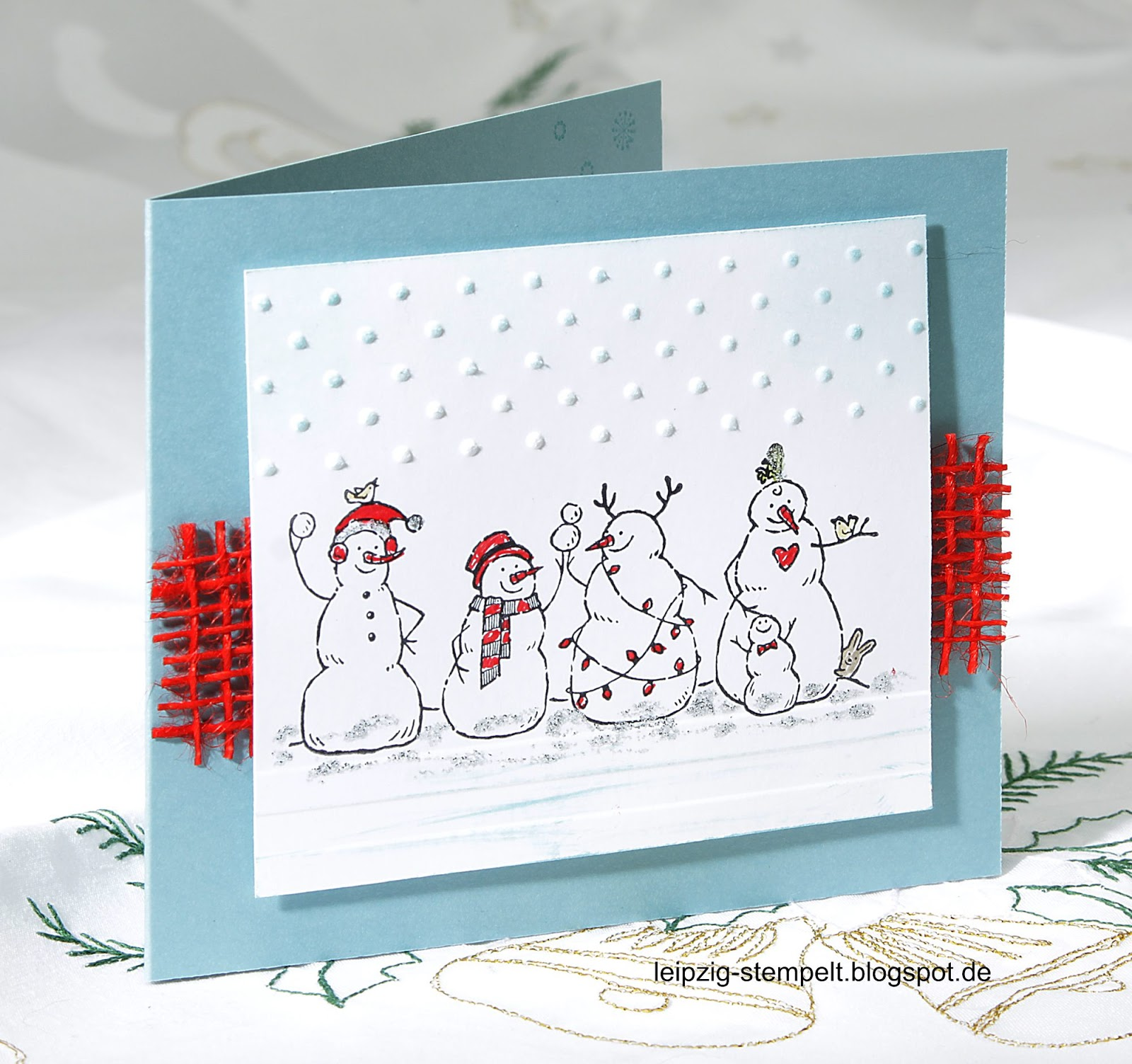 Frosty Friends, Snowmen, Stampin up