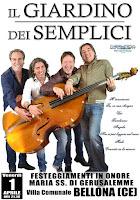 Solo caserta concerti il giardino dei semplici in concerto aprile 2016 a bellona - Il giardino dei semplici ...