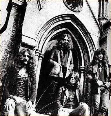 Οι Black Sabbath τον καιρό του πρώτου δίσκου τους / Black Sabbath in the beginning