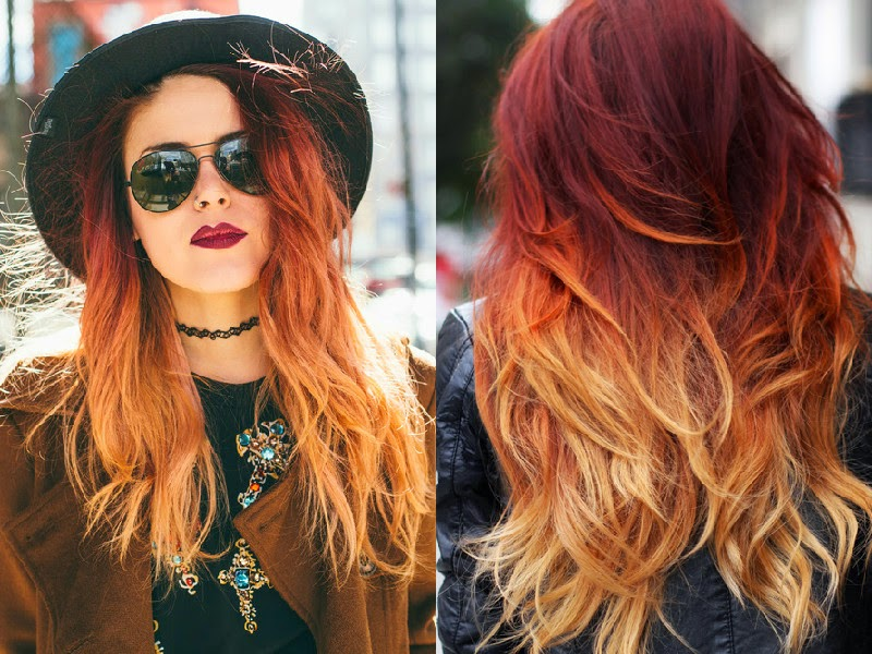 Trend: Fire Ombré Hair