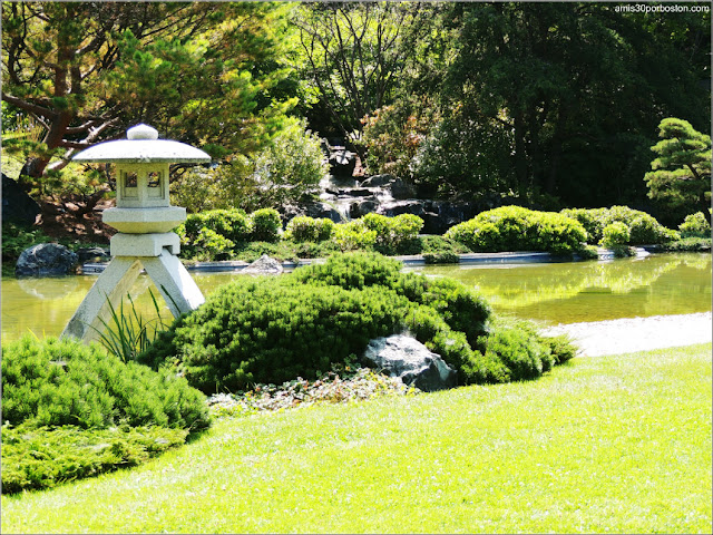 Jardín Japonés del Jardín Botánico de Montreal: Linterna de Nieve