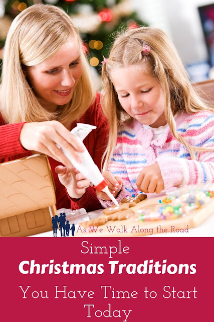 Simple Christmas traditions for kids