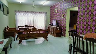 dekorasi rumah bajetpuan isteri dan adik ipar