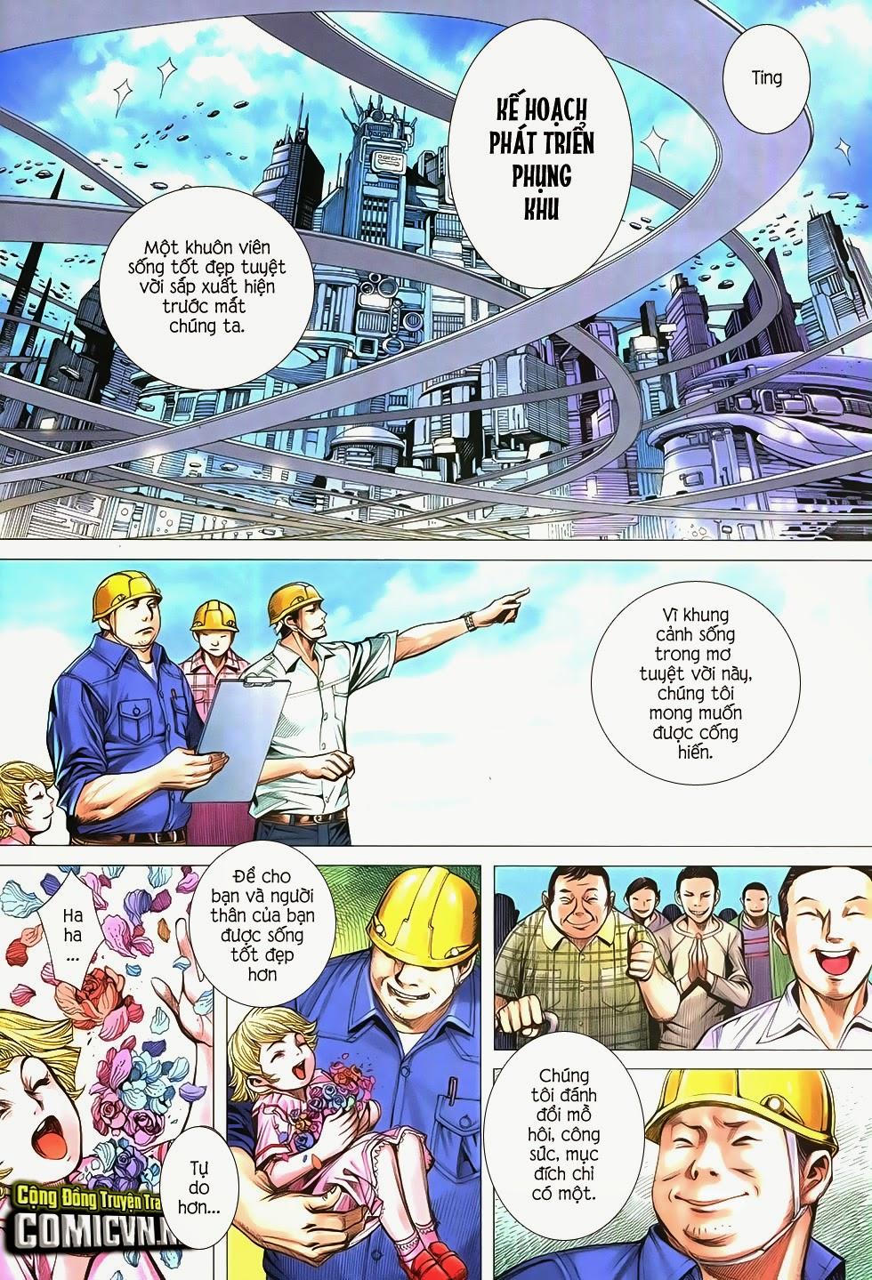 Đại Quân Phiệt chap 21 trang 16