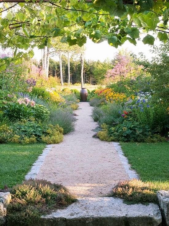 A Stroll Along The Garden Path