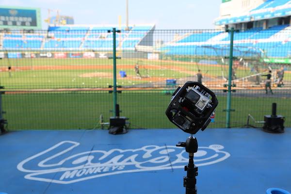 數位時代在本次 CPBL 總冠軍賽持續追蹤 VR 拍攝在運動賽事實體應用的過程,James Huang 攝影