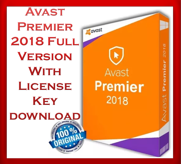 avast premier 2018 latest crack