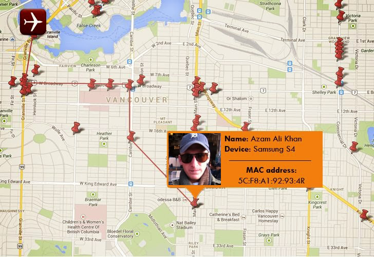 Spying agencies tracking your location by capturing MAC address of your devices