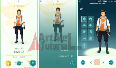 Update Pokemon Go APK 0.33.0 Terbaru 2016