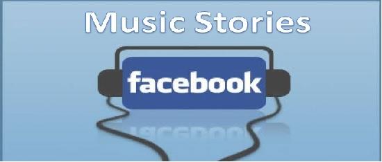 Music Stories de Facebook