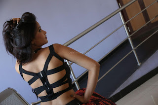 Shriya Vyas in a Tight Backless Sleeveless Crop top and Skirt 20.JPG