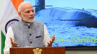 arihant-will-give-befitting-reply-to-nuclear-weapons-blackmailing--modi
