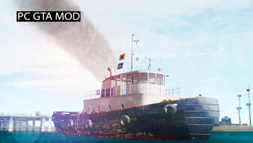 Free Download GTA V Buckingham Tug Boat Mod for GTA San Andreas.