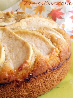 Torta di mele e panna - Torta di mele