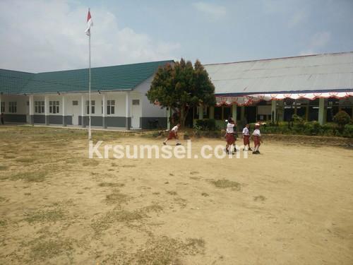 Bangun Gedung SD Jatibun, PT MBI Peduli Pendidikan Di Kabupaten Muba