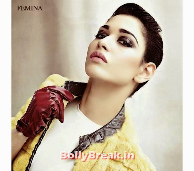, Tamanna Bhatia Femina Magazine Scans