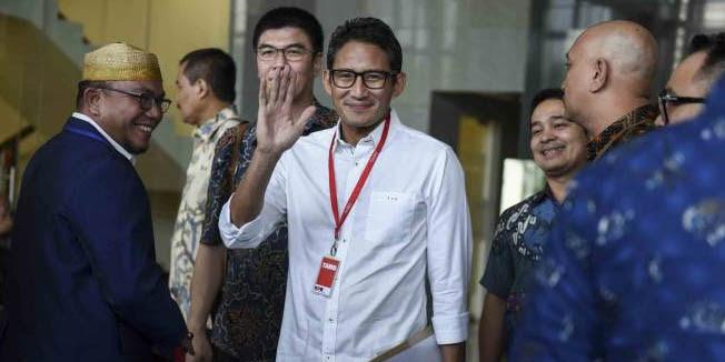 Disumbangkan ke BAZNAS, Sandiaga Uno Tak Ambil Gaji Wagub DKI