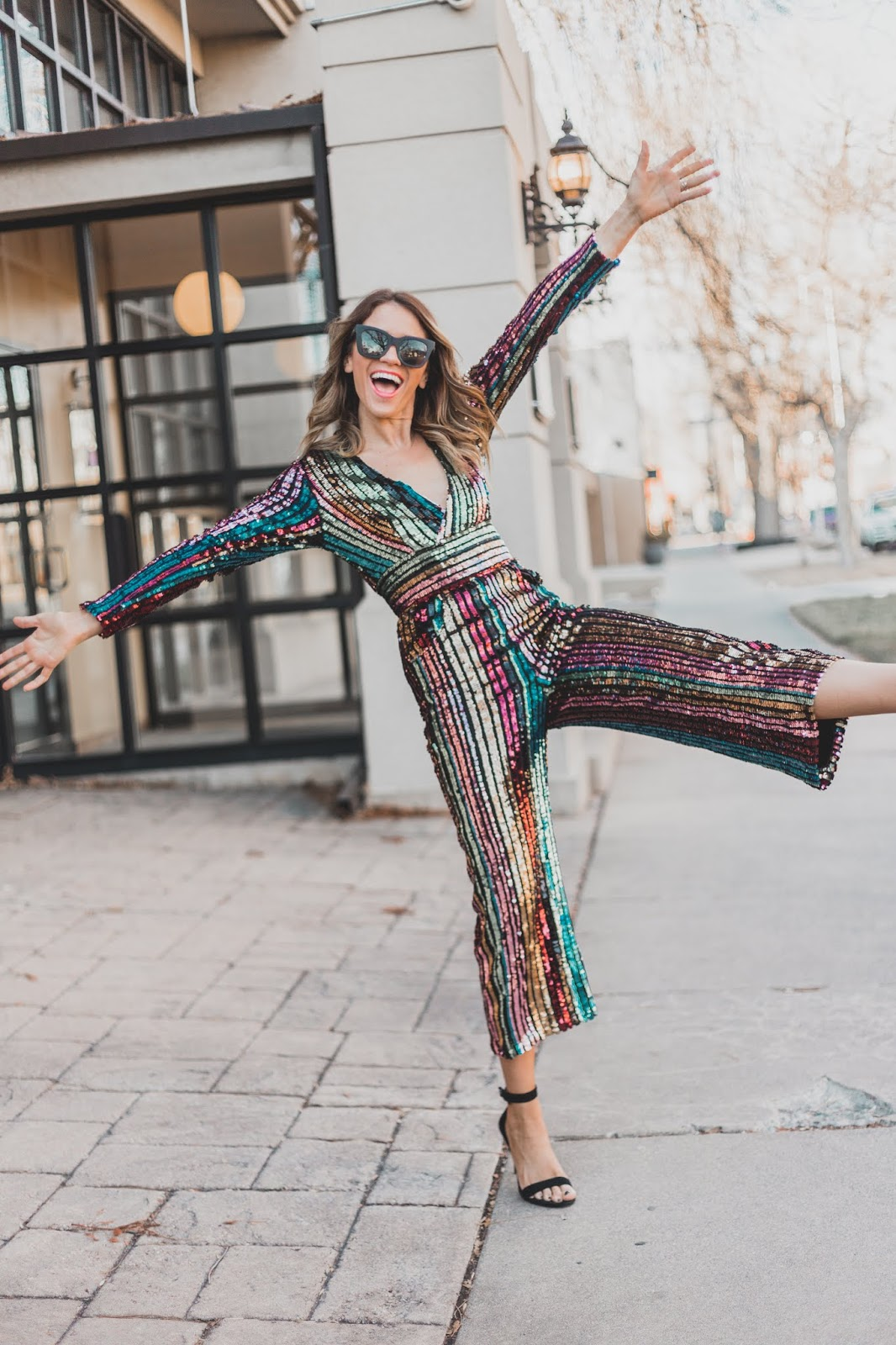 Best Sequin Jumpsuit for New Years Eve
