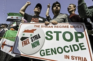 Genocide in syria : death toll