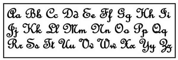 Different Font Alphabet Letters images
