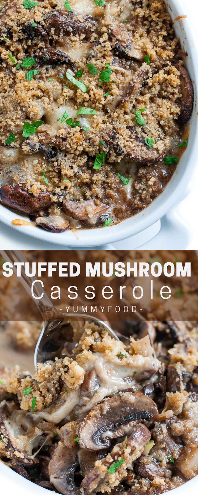 Stuffеd Mushroom Cаѕѕеrоlе