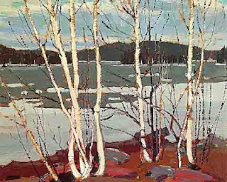 Tom Thomson painting - Spring Algonquin