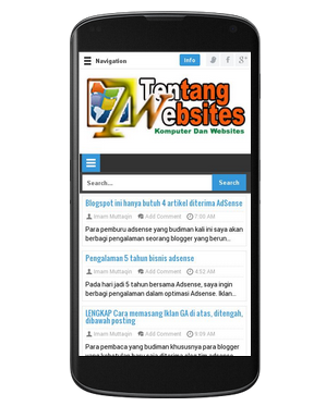 Download template blog seo simple Responsive GRATIS