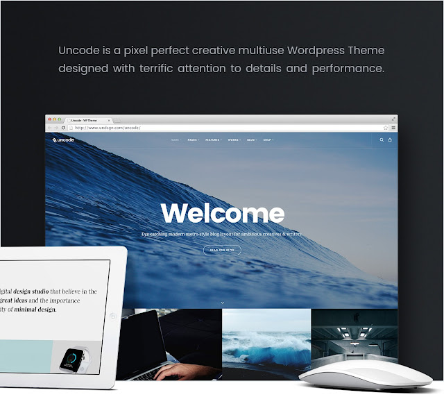 Uncode - Template Wordpress