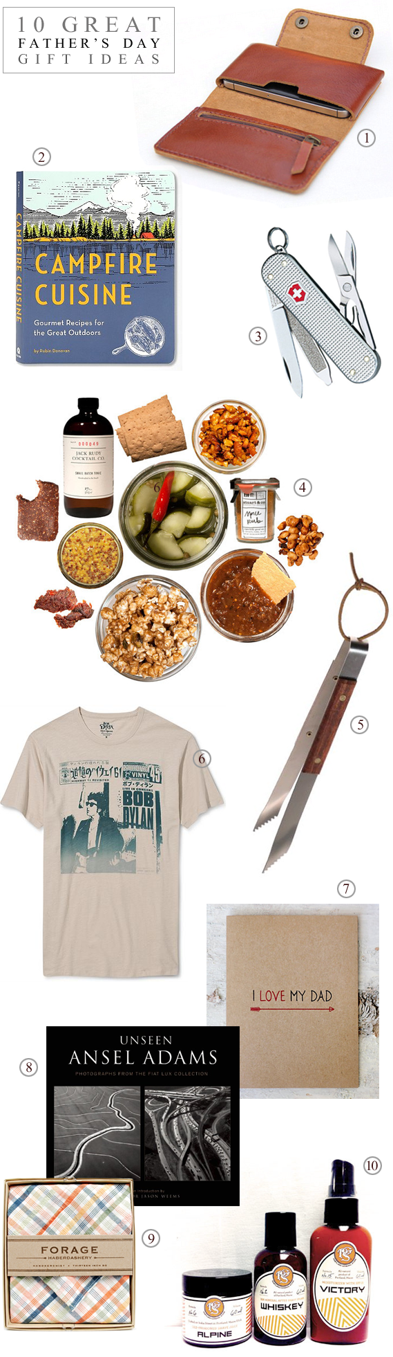 10 Great Father's Day Gift Ideas with Bubby and Bean