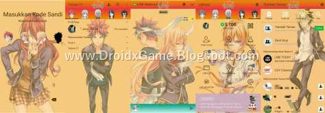 Download Tema Line Anime SHOKUGEKI NO SOMA