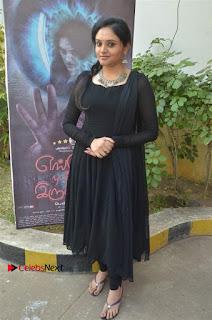 Actress Kala Kalyani Stills in Black Salwar Kameez at Engeyum Naan Iruppen Audio Launch  0012.jpg