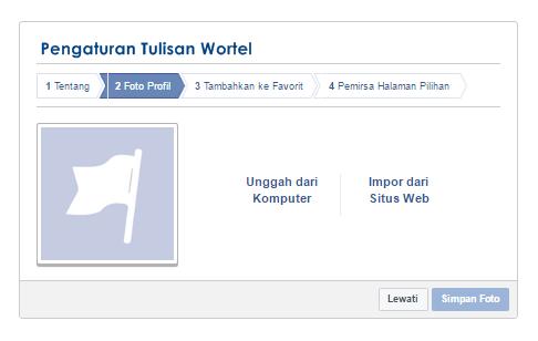 cara membuat fanspage facebook di blog