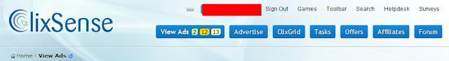 Paid To Click Clixsense | Anda dibayar jika klik iklan