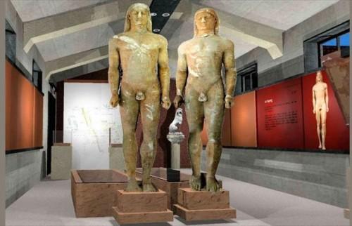 Η Αρχαία Κόρινθος και οι δίδυμοι κούροι που παραλίγο να πουληθούν στο εξωτερικό
