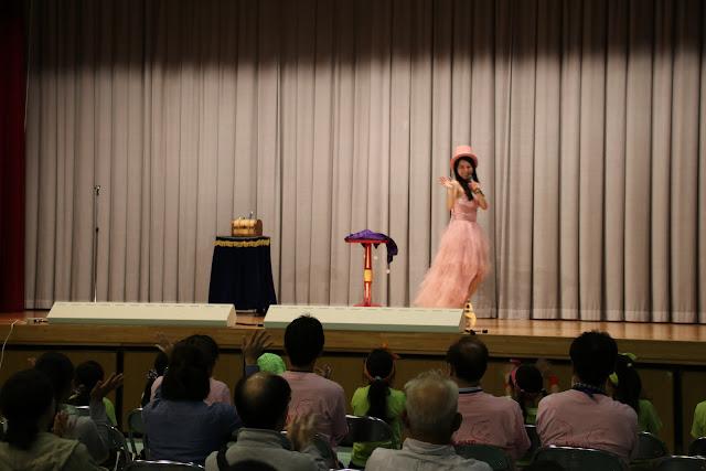 中学校公演|美人マジシャン!? アリス(有栖川 萌)公式ブログ|マジックショー,イリュージョン,手妻(和妻,和風手品)の全国出張承ります♪