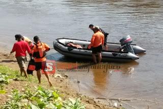 Belum Ditemukan, Pencarian Bocah SD Tenggelam Di Sungai Begawan Solo Dilanjutkan