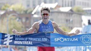 TRIATLÓN (Series Mundiales 2017) - Javier Gómez Noya regresa a lo alto del podio y Ashley Gentle se estrenó en Montreal