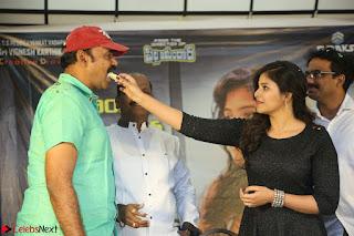 Anjali in Black Short Dress at Chitrangada Movie Success Meet ~  004.JPG