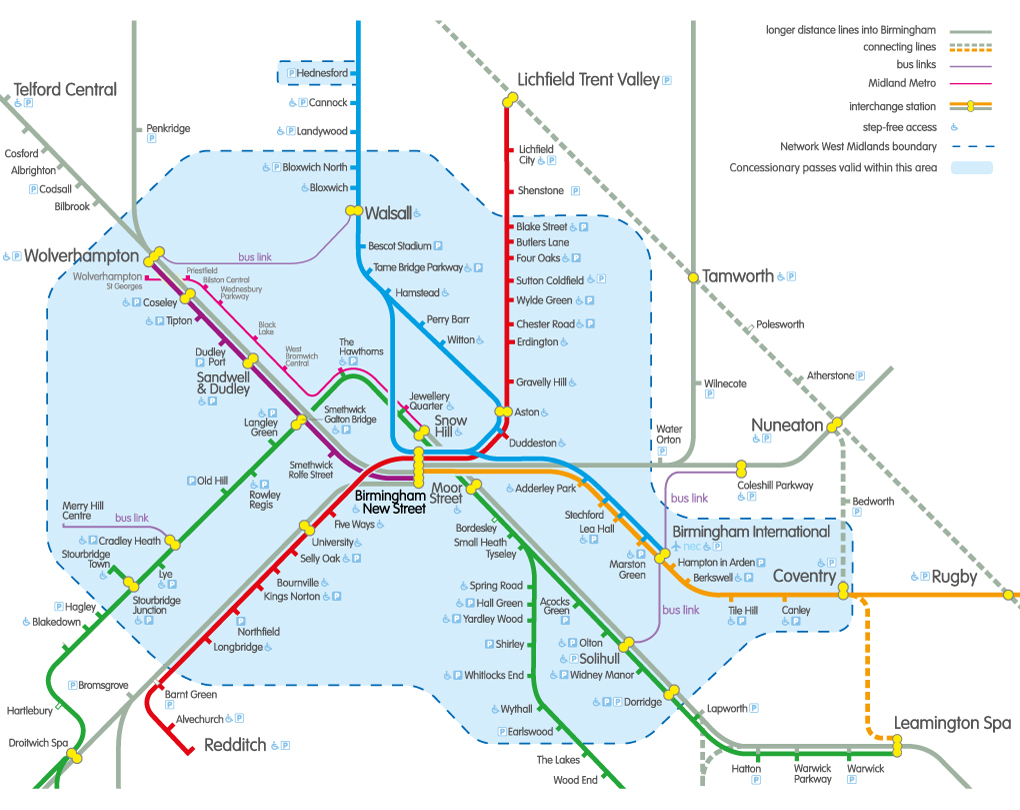 map to birmingham