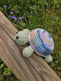 teknős horgolva