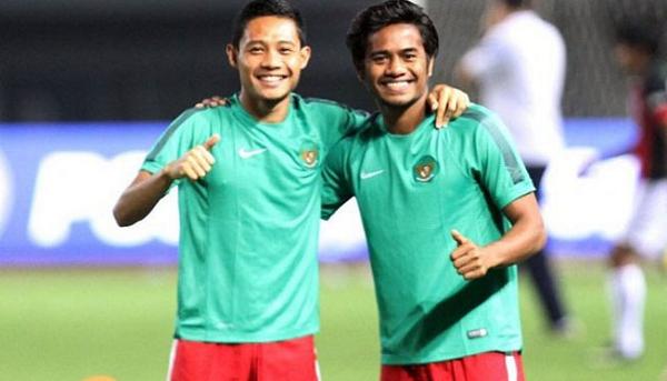 Evan Dimas dan Ilham Udin Armayin