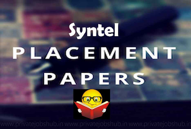 Syntel Placement Papers