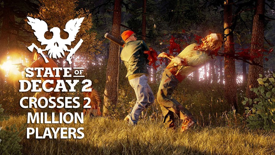 state of decay 2 exceeds 2 million players