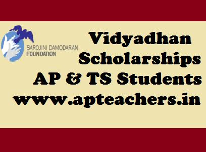 Vidyadhan Scholarships for AP Students TS Students Vidhyadhan.Org