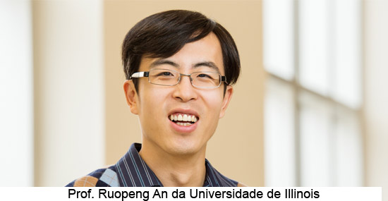 Prof. Ruopeng An da Universidade de Illinois