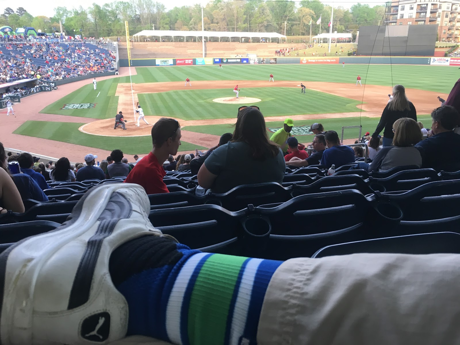 b632b210 Journeyed out to Buford this afternoon for my first Gwinnett Stripers game.